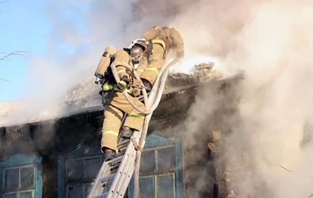 Под Волгоградом в собственном доме сгорела пенсионерка