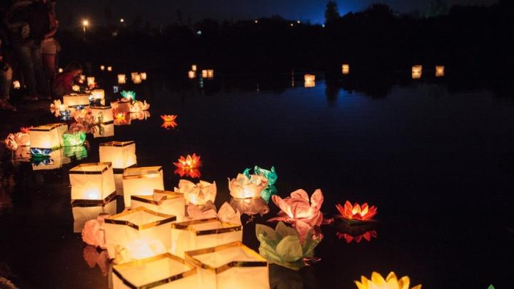 Романтика скрипки и звезды: в ростовском парке «Дружба» пройдет фестиваль водных фонариков
