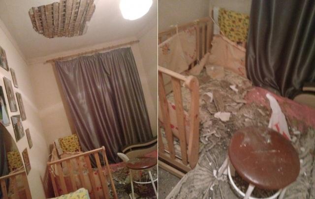 У тюменки в квартире с потолка обвалился пласт штукатурки