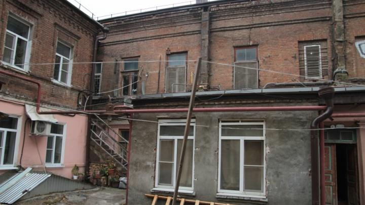 На время чемпионата мира ремонтируемые здания в центре Ростова спрячут под банерами