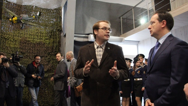 Мединский открыл в Архангельске выставку о военных мифах