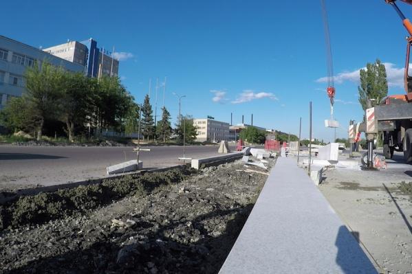 Завершить реконструкцию шоссе планируется до конца года