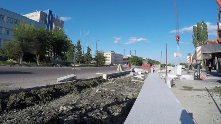 Завтра на шоссе Авиаторов в Волгограде выйдет новый подрядчик