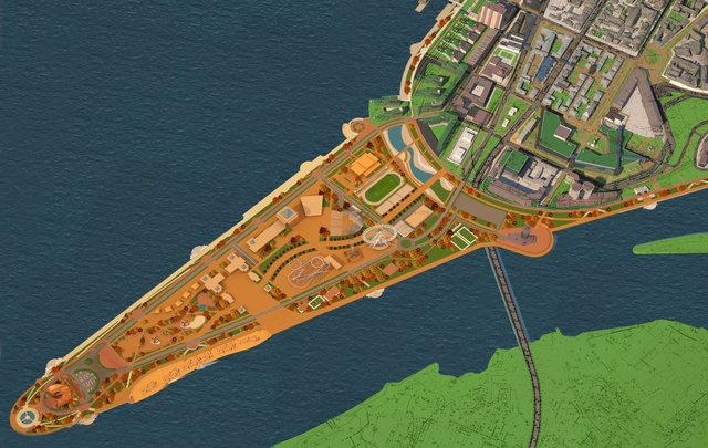 На стрелке рек Волги и Самары хотят развивать уличный ритейл и строить жилье