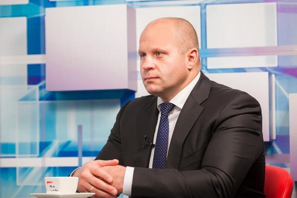 Накануне чемпионата России-2013 года глава союза ММА Федор Емельяненко одобрил проведение соревнований в ЛА «Трактор»