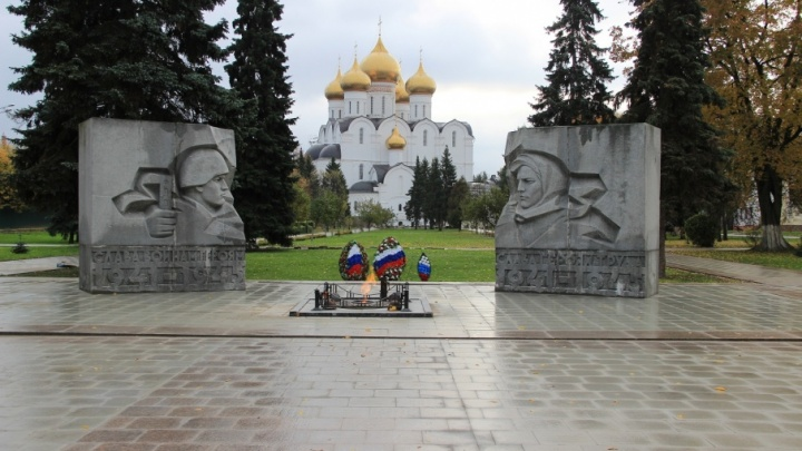 В Ярославле обновили Вечный огонь