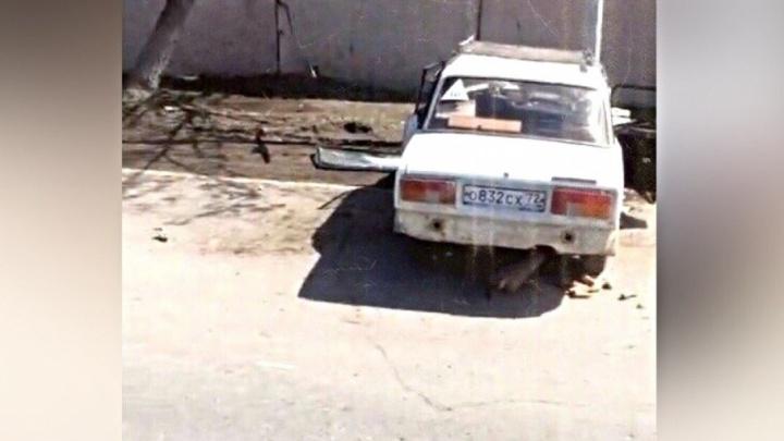 Из-за аварии на Ветеранов Труда пассажира «пятёрки» увезли в больницу с переломом
