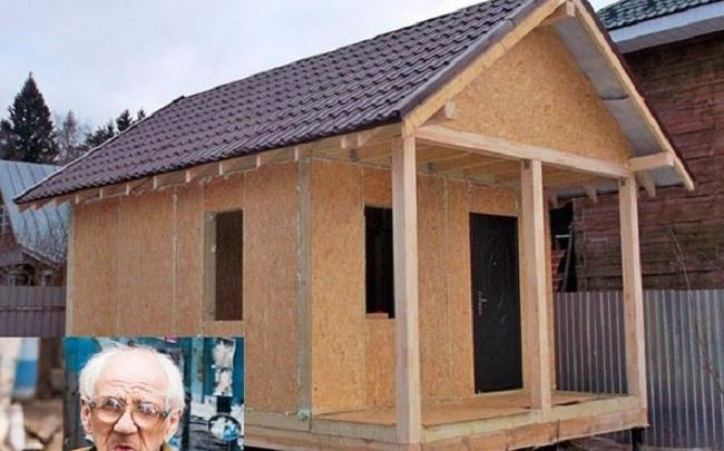 Ветеран из землянки переедет в новый дом