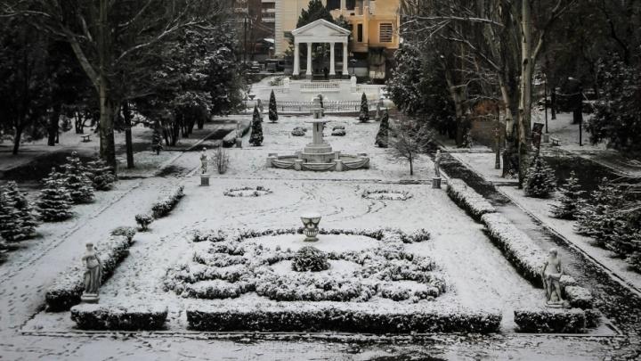 На этой неделе в Ростове-на-Дону ожидаются снег и морозы