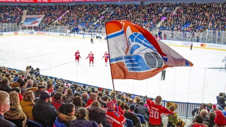 «Локомотив» сыграет последний матч в регулярном чемпионате КХЛ