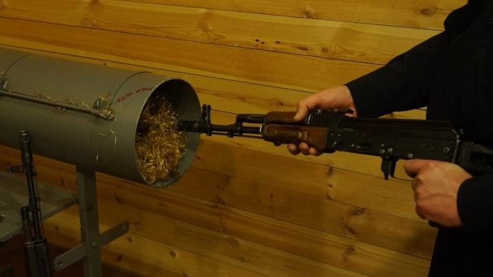 Мешок гранат и два автомата: у жителя Таганрога обнаружили целый арсенал оружия