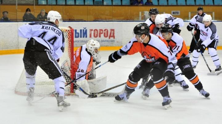 ХК «Рубин» выиграл у тагильского «Спутника»