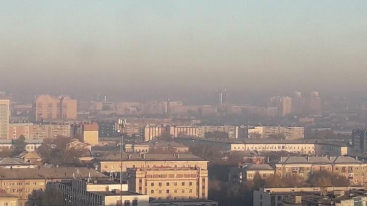 «Добрым утро язык не поворачивается назвать»: челябинцы делятся фото смога, накрывшего город