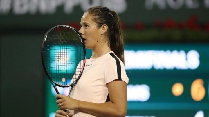 Теннисистка из Тольятти Дарья Касаткина пробилась в финал турнира в Индиан-Уэллсе