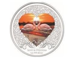 Коллекционная монета в подарок на 8 Марта