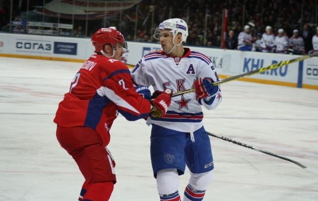 «Локомотив» крупно уступил «СКА» во втором матче финала Запада
