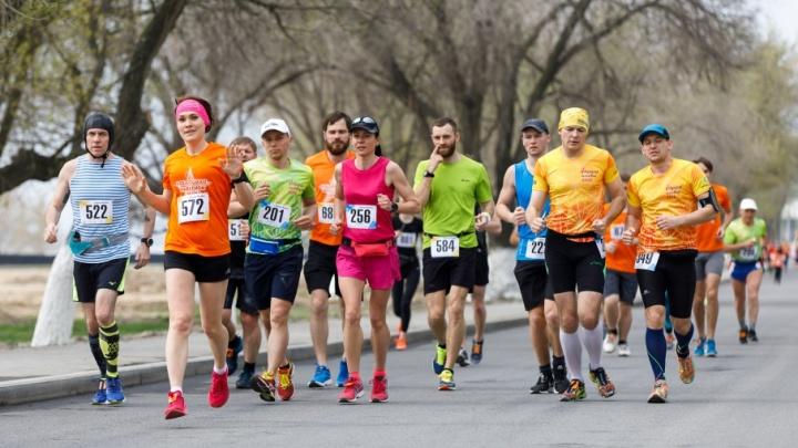 Волгоград на старте: спортсмены со всей России пробежали ежегодный марафон