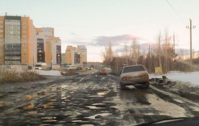 Дорогу в «Парковый-2» отремонтируют с началом дорожного сезона