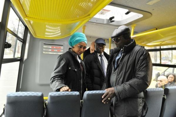 Делегация из Республики Гана оценивает российскую «Газель-NEXT»