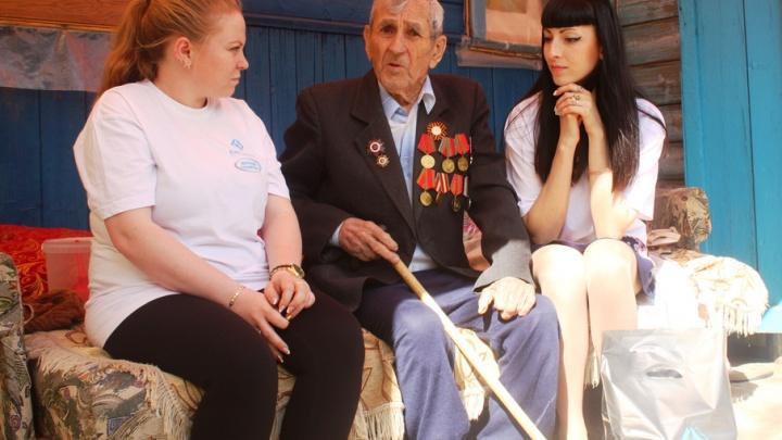 Молодые специалисты «ЕвроХим-ВолгаКалия» поблагодарили ветеранов за подвиг