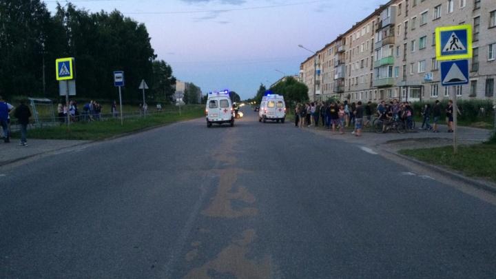 В Коряжме пьяный водитель «Киа» сбил 17-летнюю девушку