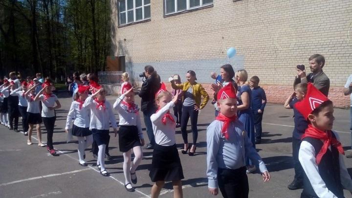 Ярославских школьников приняли в пионеры: фото