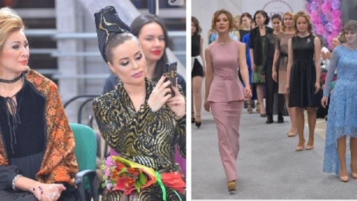 15 Золушек и феи: Юлия Михалкова и Вика Цыганова устроили для девочек-сирот дефиле в новогодних платьях