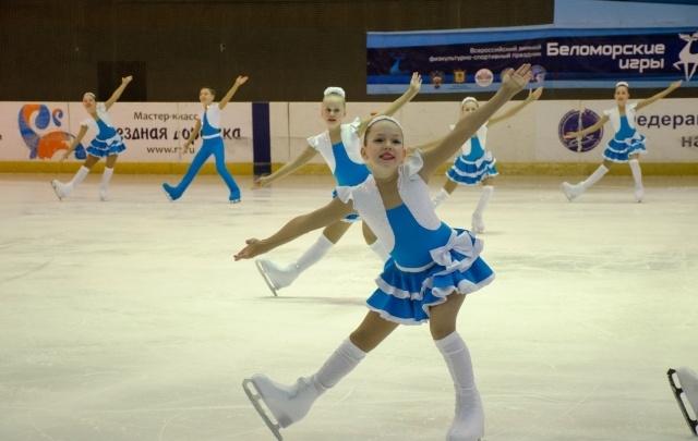 В рамках «Беломорских игр» прошли соревнования по фигурному катанию