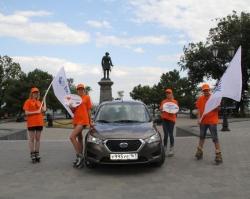В Таганроге прошли съемки новой серии проекта «Вокруг Ростова»