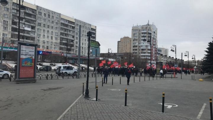 В Тюмени на Республики частично ограничили движение автомобилей