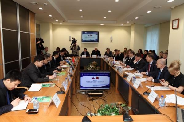 На встрече представители двух городов обсудили экологию и реку Темерник