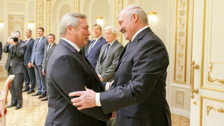 Лукашенко хочет увеличить товарооборот с Ростовской областью до 500 млн долларов