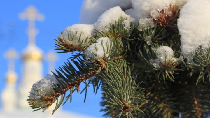 Синоптики обещают теплые и снежные выходные в Поморье