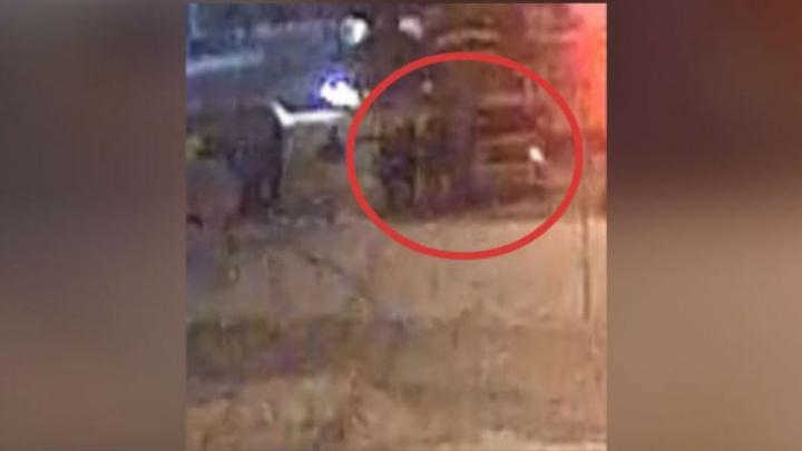В Ярославле расстреляли внедорожник: появилось видео