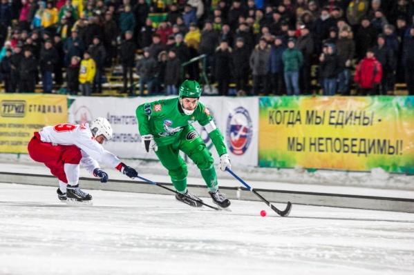 Игра в Архангельске завершилась со счетом 4:7 в пользу красноярской команды