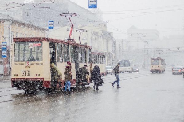 В выходные Южный Урал накроет дождём и мокрым снегом, синоптики предупредили о сильном ветре