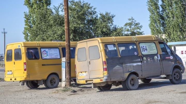 В Волгограде неожиданно отменили основную маршрутку до Краснослободска