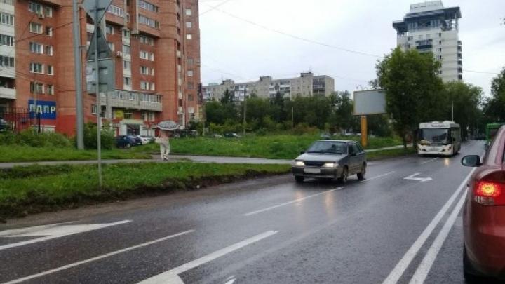 В Перми улица Островского стала четырехполосной