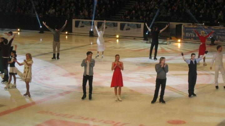 В Ярославль приехали спортсмены, не допущенные на Олимпиаду, и устроили шоу