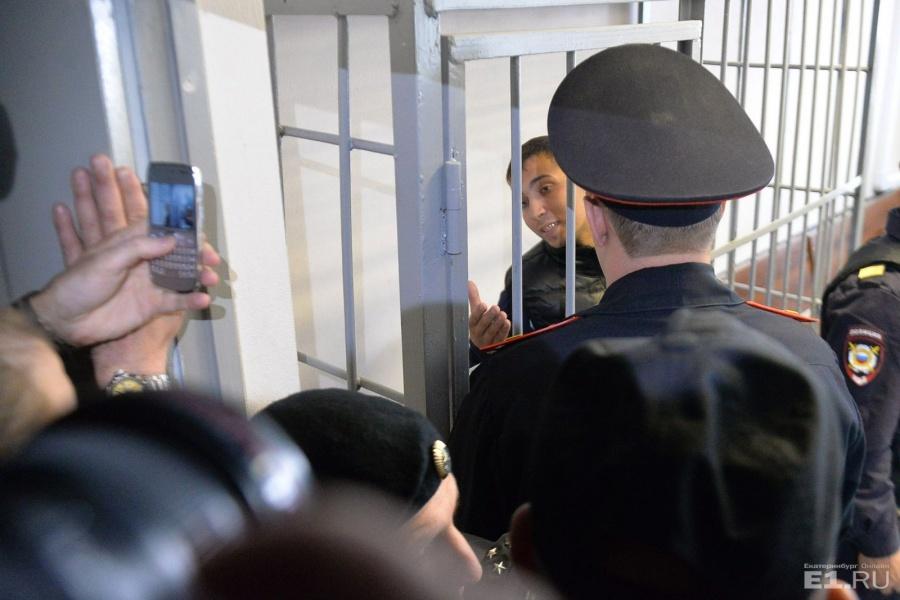 Дмитрий Пестриков на суде.