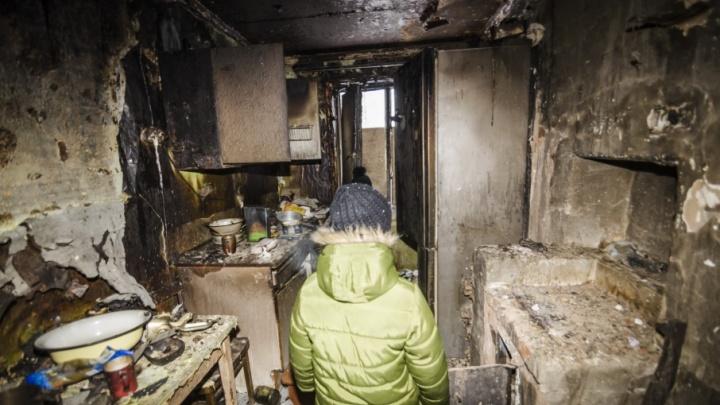 «Ключи в мэрии дали без слов»: после публикации в СМИ архангельские погорельцы получили жилье