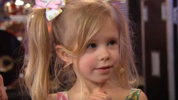 Четырехлетняя ярославна удивила Максима Галкина на Первом канале