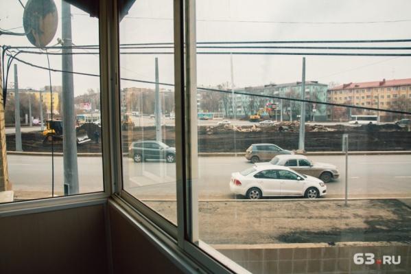 Экраны перекроют вид из окна