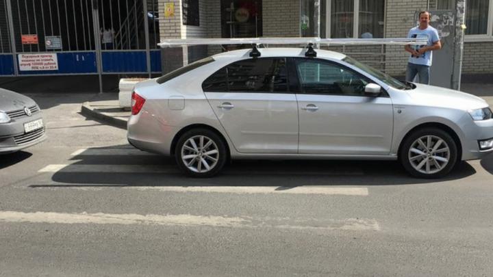 Паркуюсь, как чудак: очередная фотоподборка нарушений на ростовских дорогах