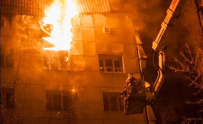 Новые подробности трагедии на Олимпийской: зачинщик пожара хотел покончить с собой