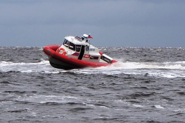 Спасатели прибыли на остров вместе с медиками