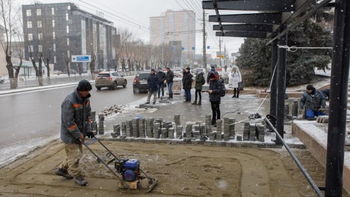 Историческое преображение: улицу Невскую ударно готовят к чемпионату