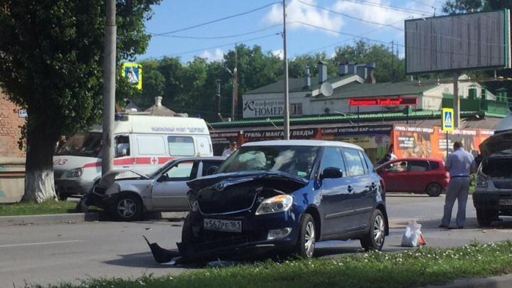 В аварии на Портовой пострадали две женщины