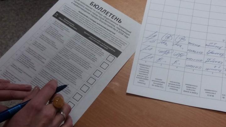 Волгоградцы могли несколько раз проголосовать за проекты благоустройства
