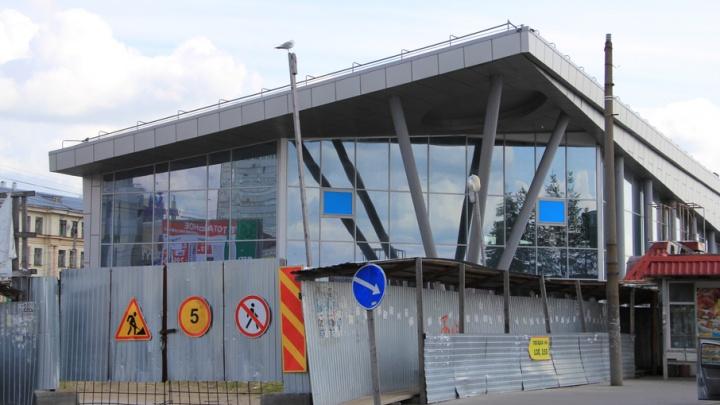 Демонтаж части терминала на МРВ идет с нарушением сроков в один месяц